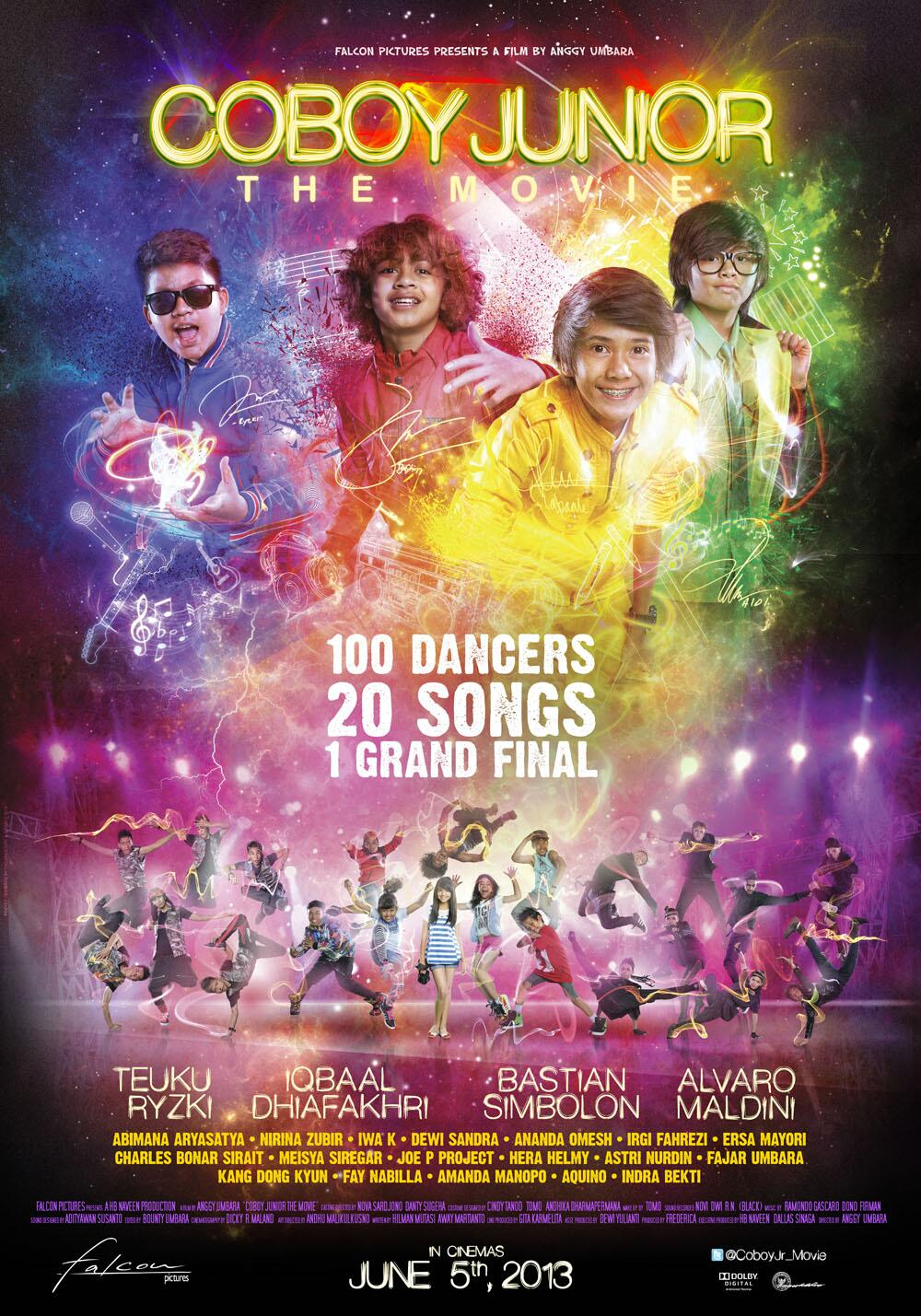 Film Coboy Junior The Movie (Cjr The Movie), menceritakan tentang