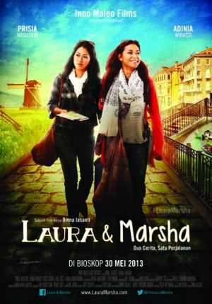 poster laura &marsha