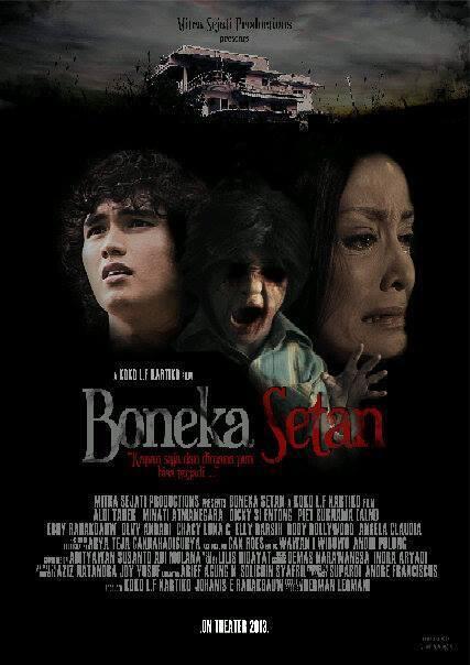 boneka setan poster