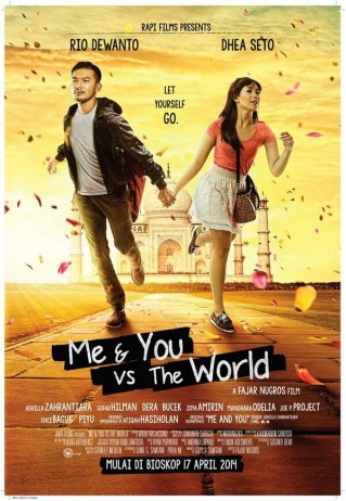 me and you versus the wolrd