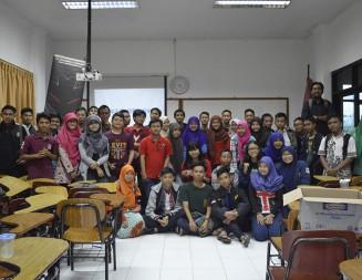 Cyberline Gelar 'Movie Screening' di Universitas Islam 45 Bekasi