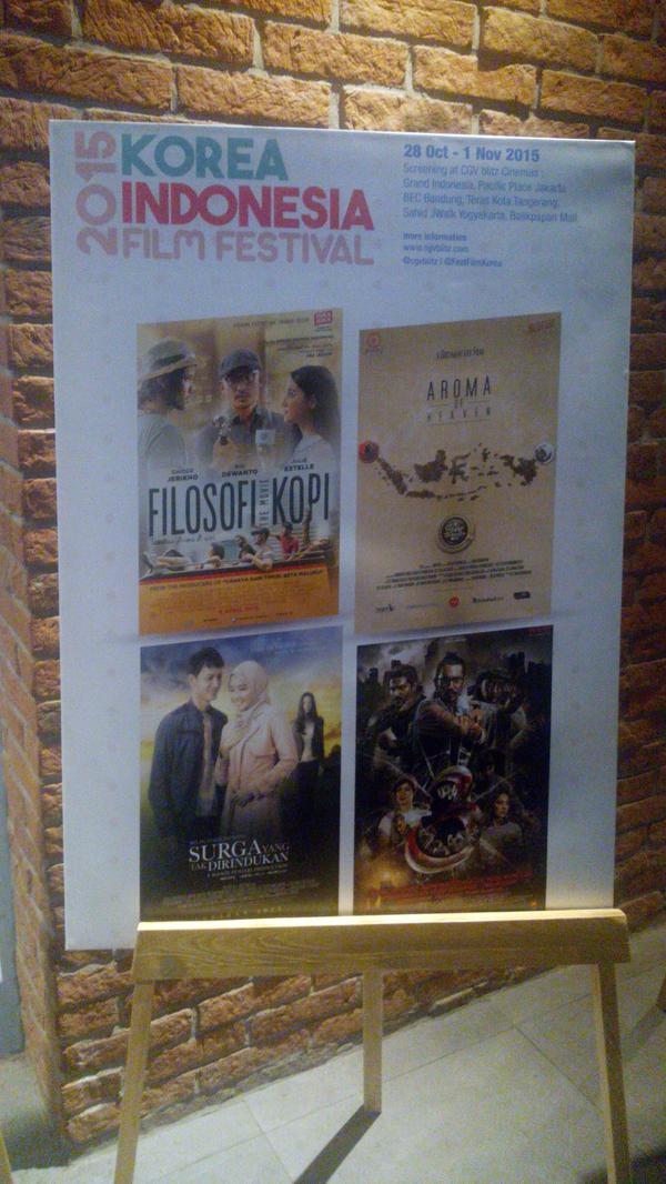 Korea Indonesia Film Festival Akan Digelar Akhir Bulan Ini