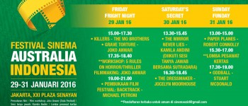 Festival Sinema Australia Indonesia 2016 Siap Digelar!